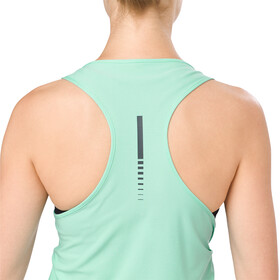 asics Graphic Koszulka do biegania bez rękawów Kobiety zielony